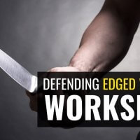 Defending Edged Weapons Workshop<br>(24/10/19 – 7pm)